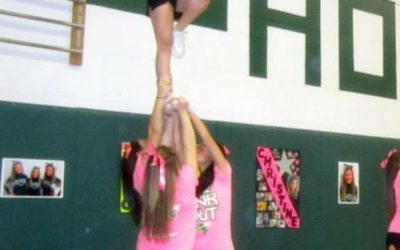 Cheerleading accounts for 65% of all female catastrophic injuries in high school